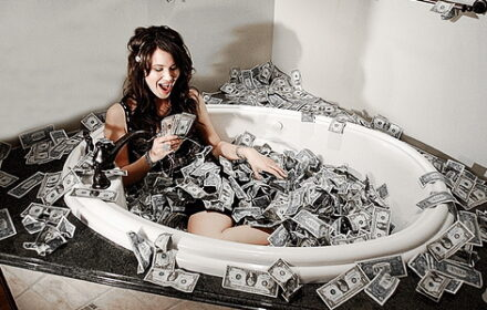money-bath