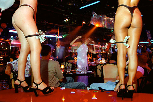 Strip Clubs: paying for foreplay and achy testicles.