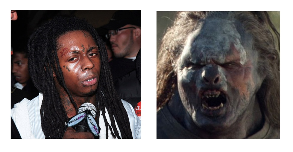 lil wayne orc lord of the rings