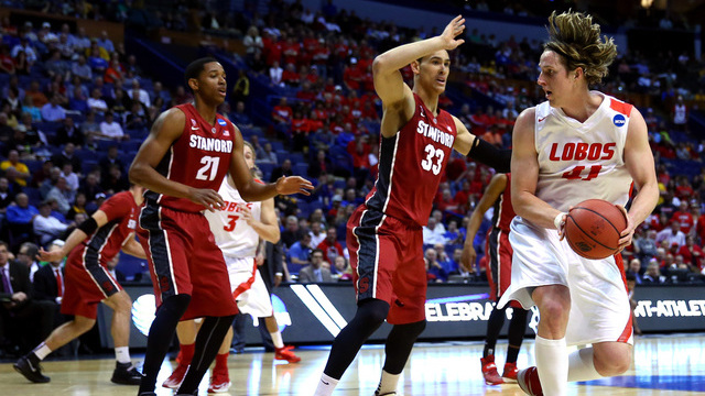 New Mexico lost to Stanford in what was the latest upset of a Mountain West team in round one.