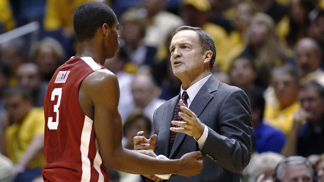 Don't be surprised if Lon Kruger's Sooners have a short stay in the tourney.