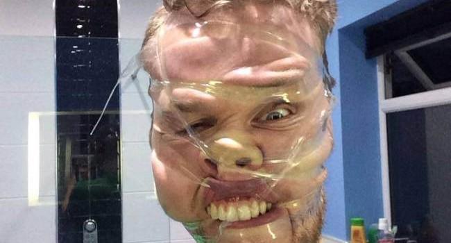 sellotape selfie