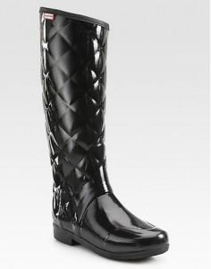 Regent Savoy Quilted Rain Boots $195.00