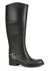 Rubber Horsebit Rain Boots $450.00
