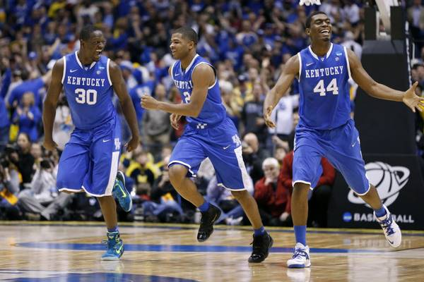 Kentucky is looking like the powerhouse we thought they'd be before the season.