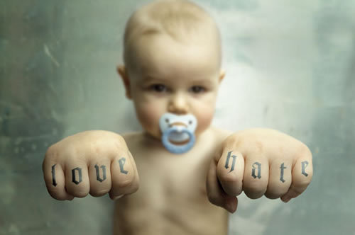 love-hate-baby