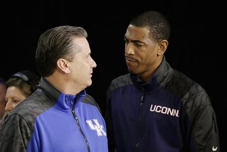 The experience gap between John Calipari and Kevin Ollie is enormous.