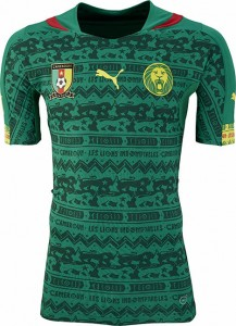 Cameroon 2014 World Cup Home Kit