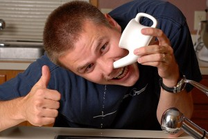 Say no to booger tea pots