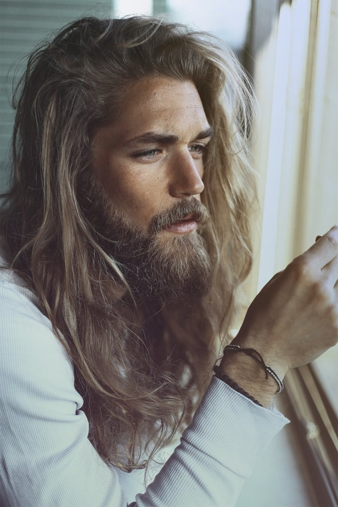 Even Straight Men Can Be Envious Of Mr Jesus Dude Riggins And Achilles Sweet Hair