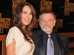 Susan Schneider and Robin Williams at The Comedy Awards (2012)