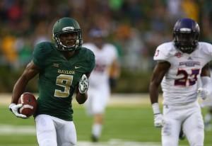 KD Cannon scores a touchdown vs NWSU