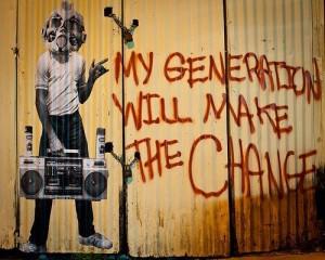my generation will make the change