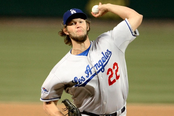 Would you ever bet against Clayton Kershaw? Cause I wouldn't.