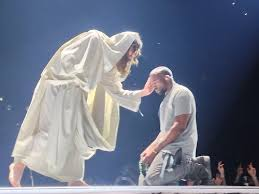 Kanye and Jesus