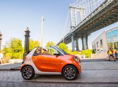 smartfortwo cabrio car