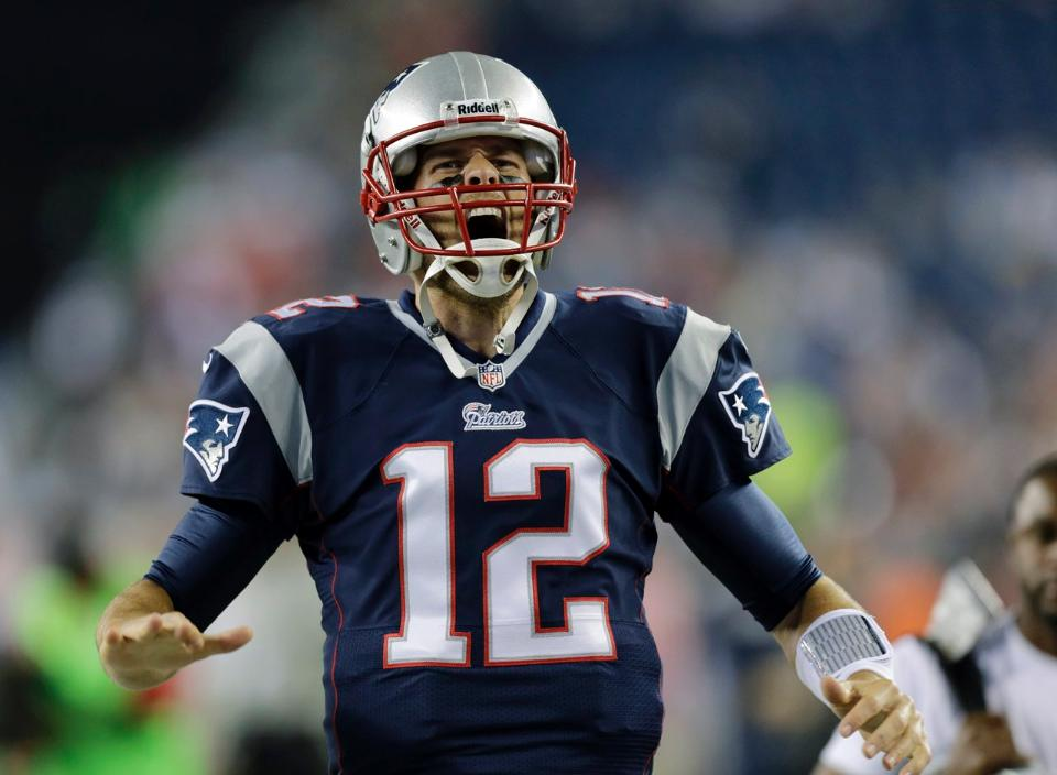 You heard it here: Tom Brady isn't gonna be happy on Saturday night.
