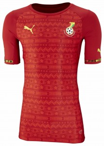 Ghana 2014 World Cup Away Kit 1