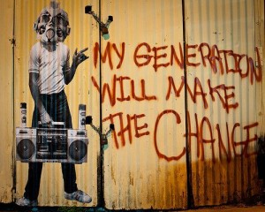 my generation will make the change