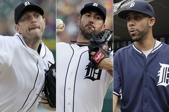 It's hard to have a better 1-2-3 than Scherzer, Verlander, and Price.