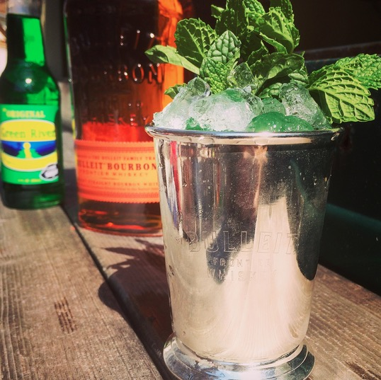 Bulleit Bourbon Mint Julep