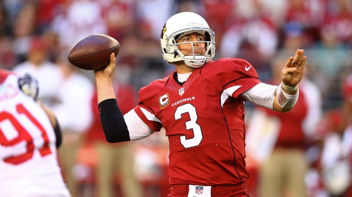 With a healthy Carson Palmer, the Cardinals have dominated on offense and defense this year.