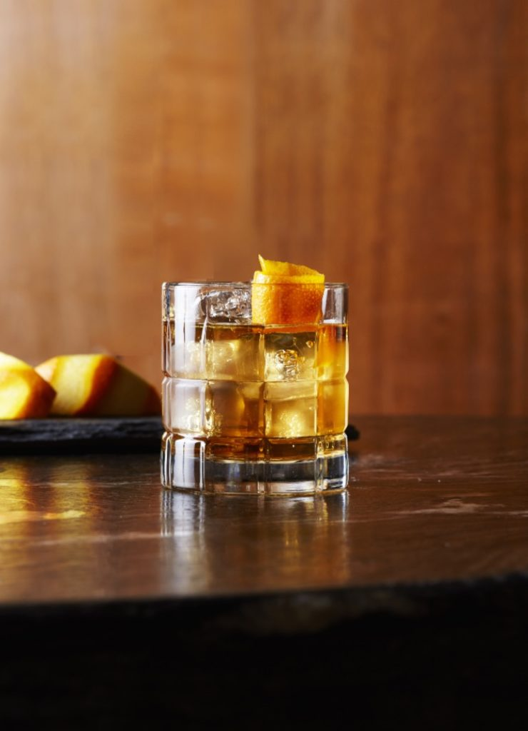 crown royal vanilla old fashioned
